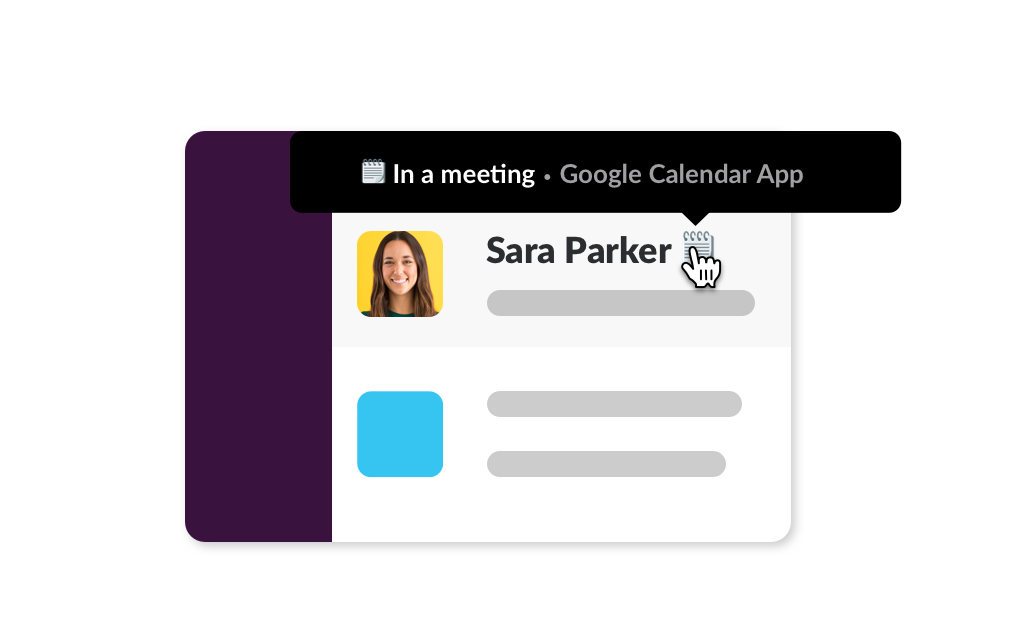 Sync your Slack status with Google Calendar