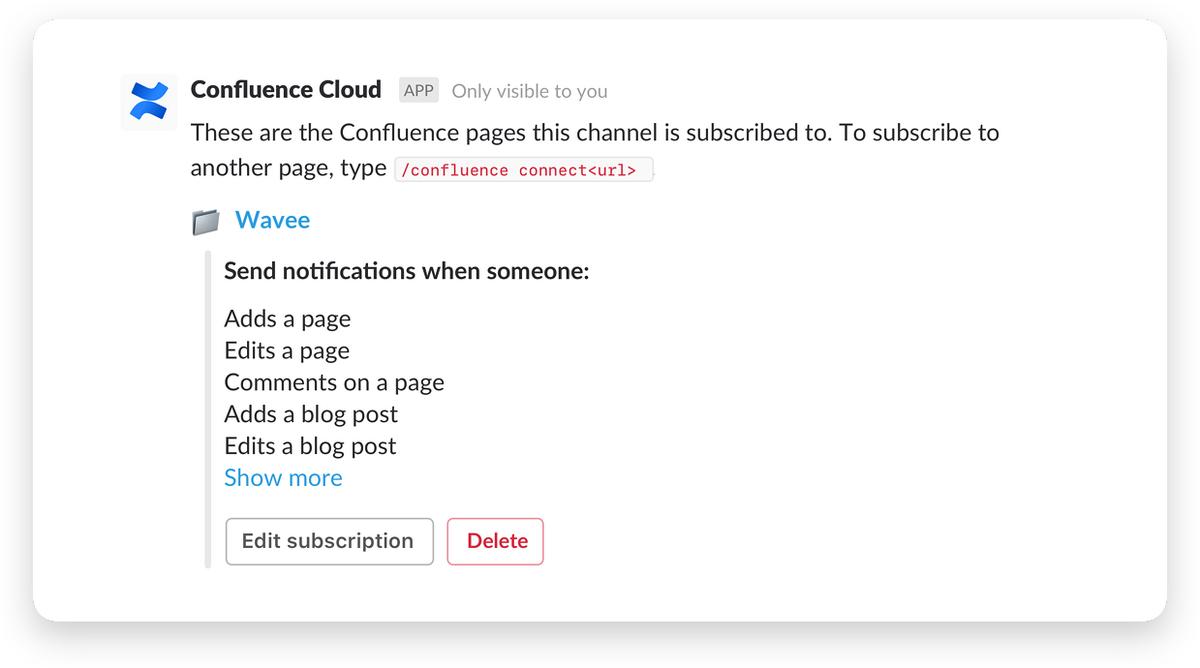 Confluence Cloud screenshot