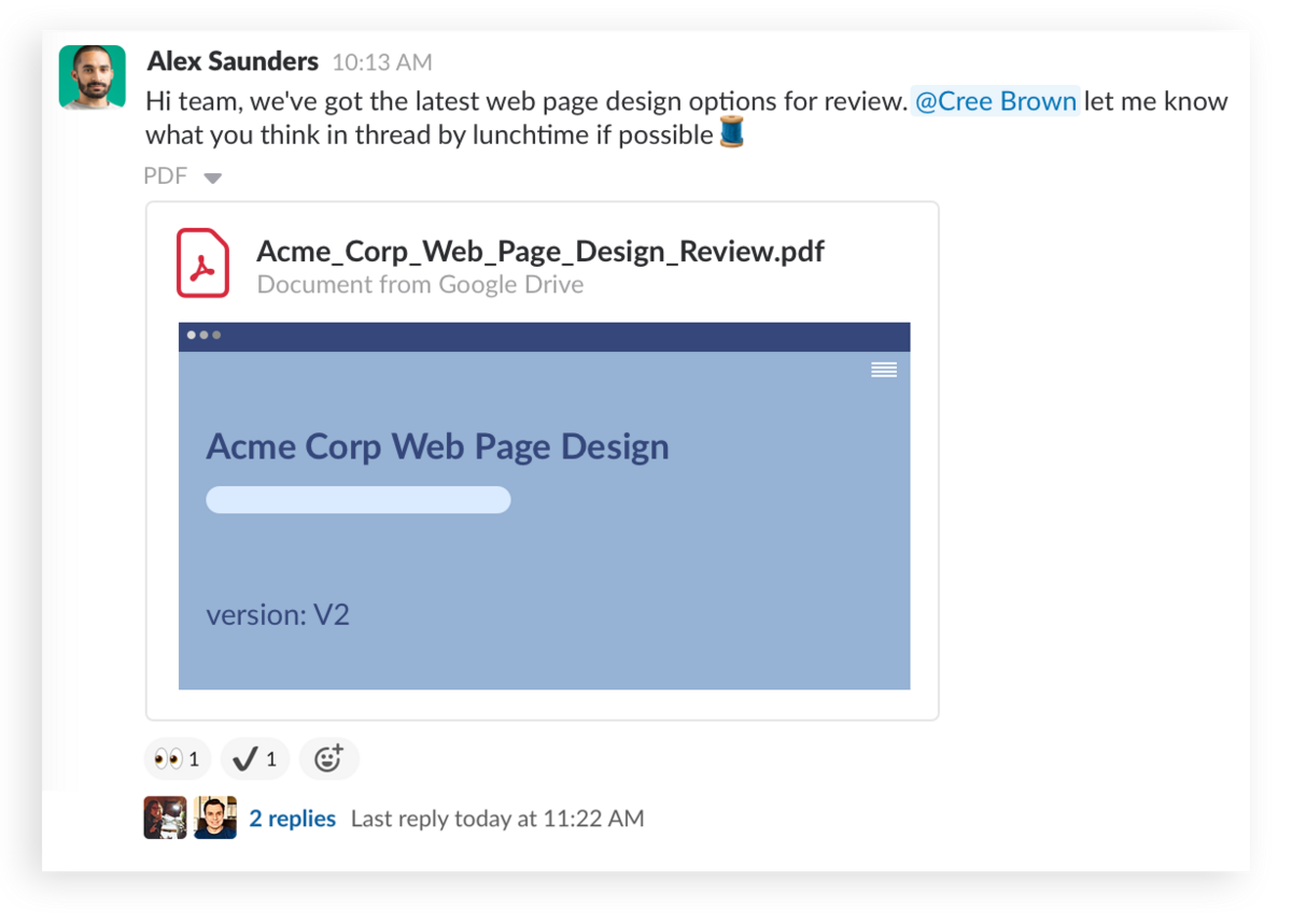 Speed up approvals with emoji in Slack
