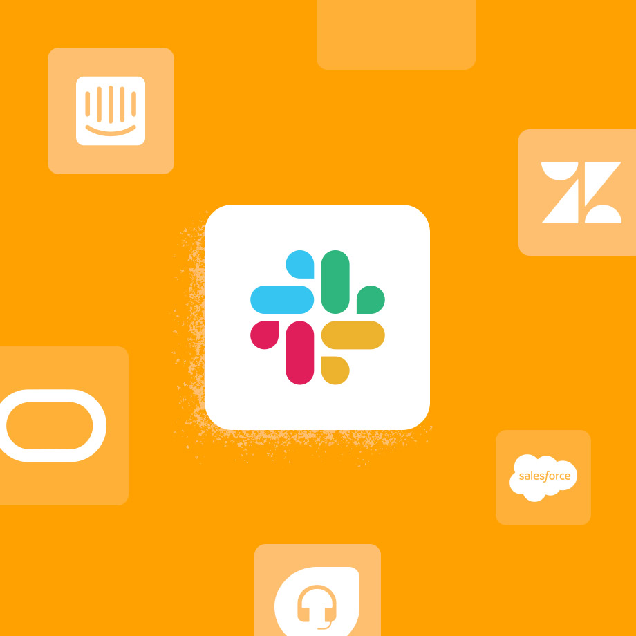 Customer support apps for Slack