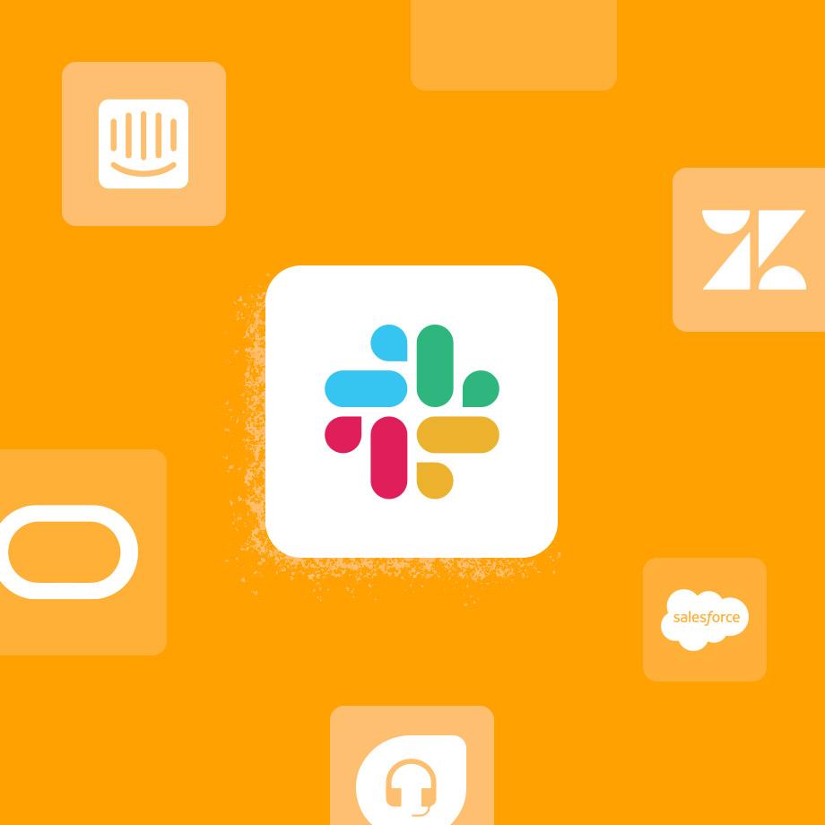 Customer support apps for Slack