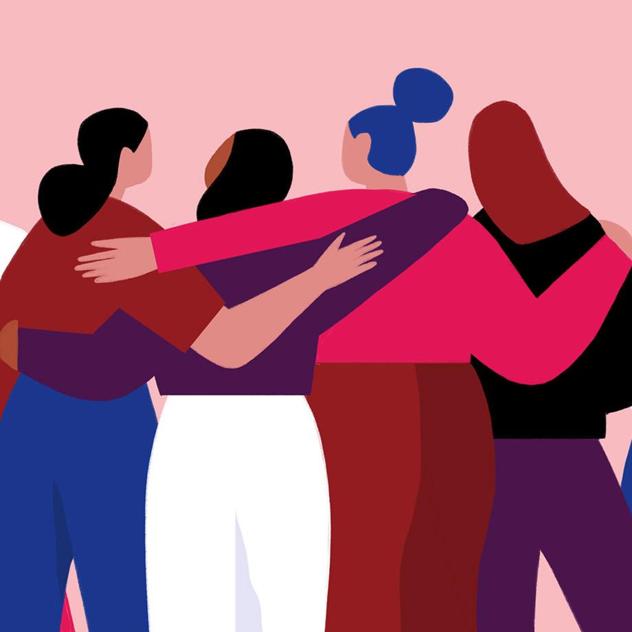 Women of Slack working together