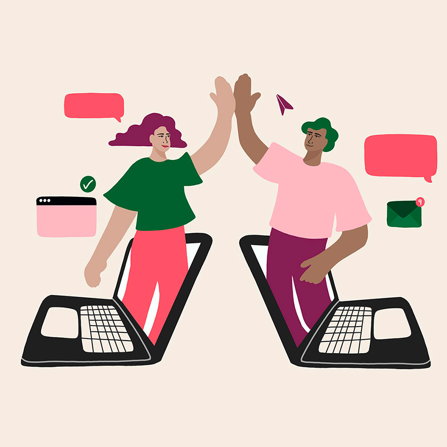 Collaborate as a remote team