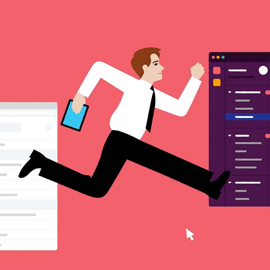 Switching from email to Slack