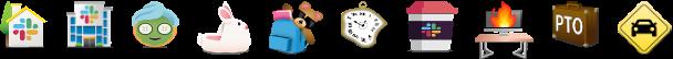 Slack remote emojis