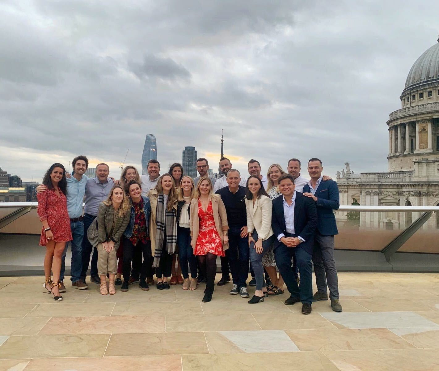 The London office summer party
