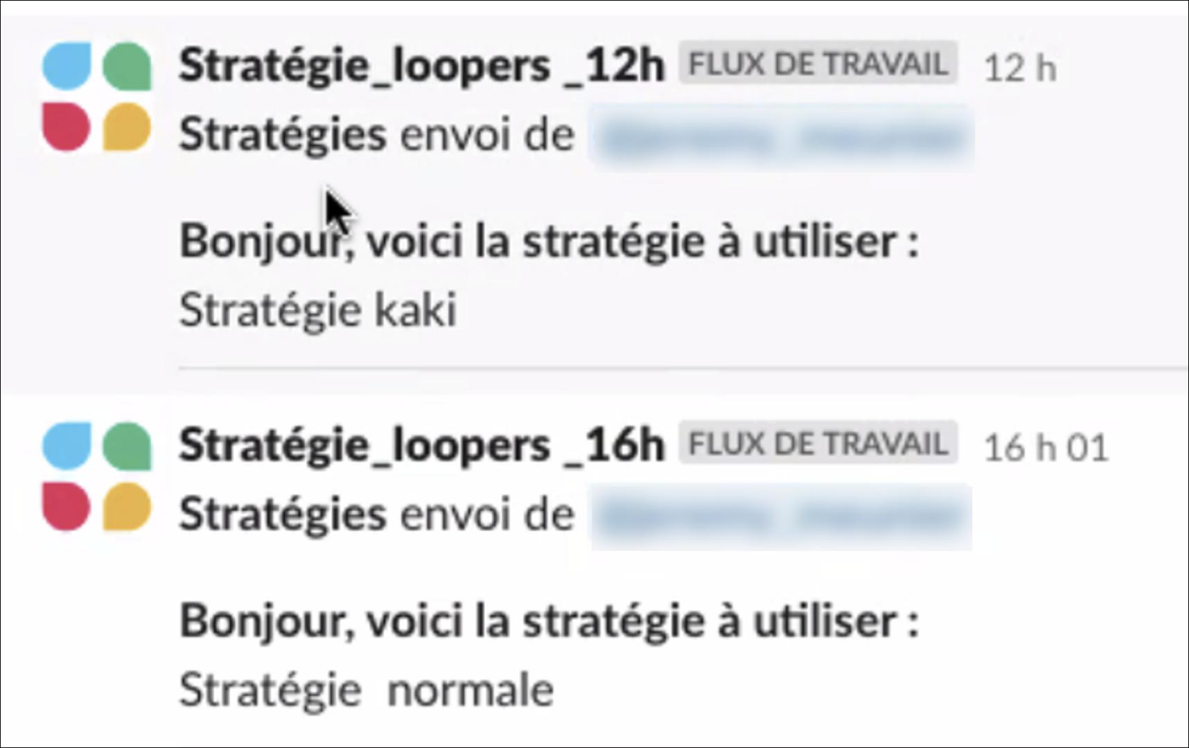 Strategie loopers