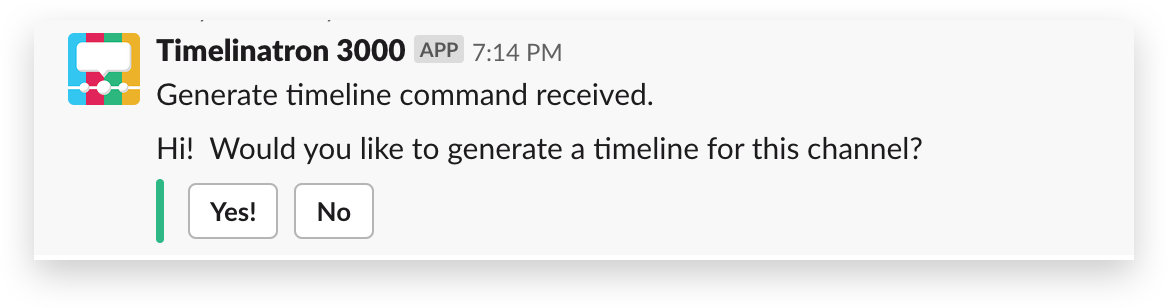 Timelineatron 3000 screenshot