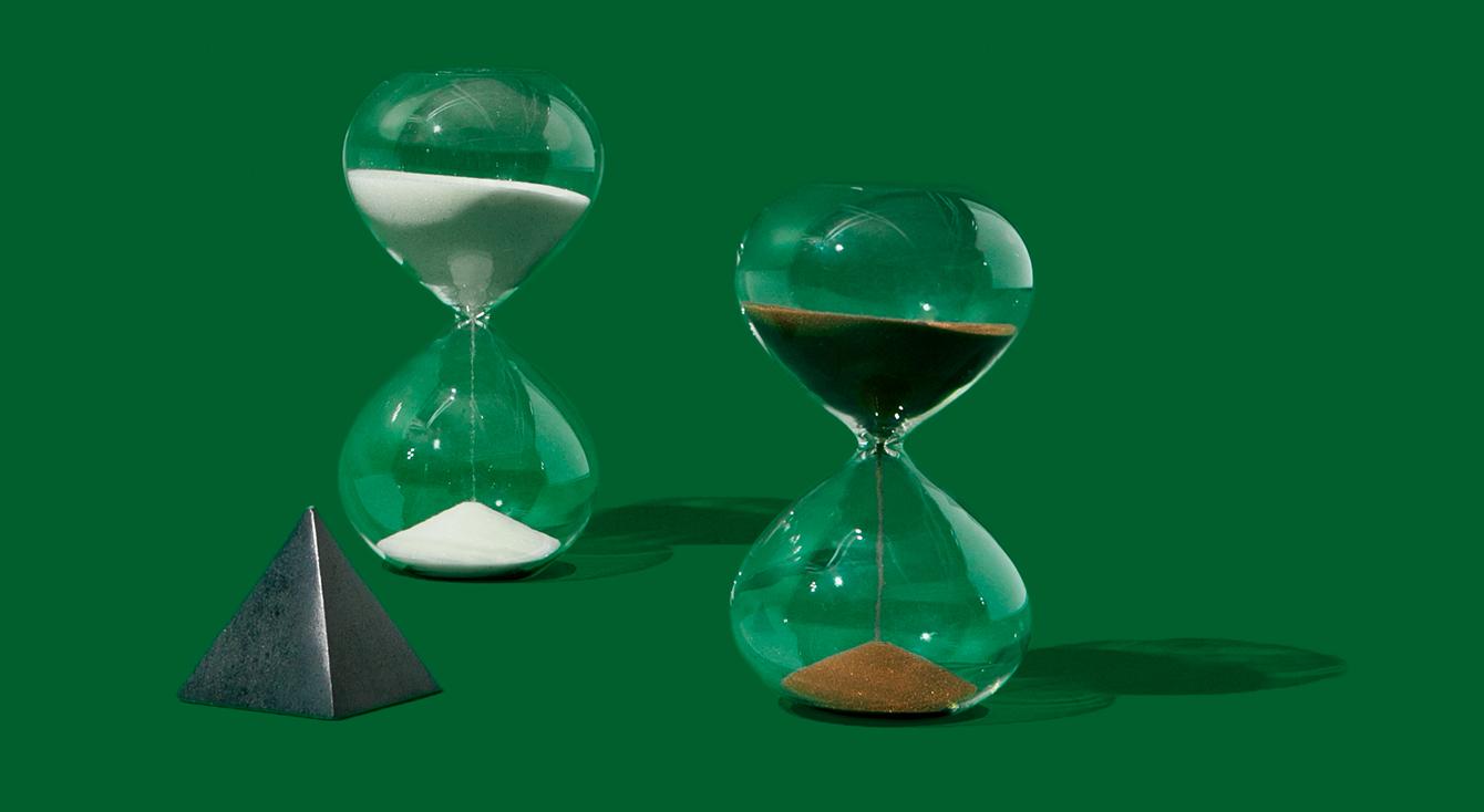 2つの砂時計