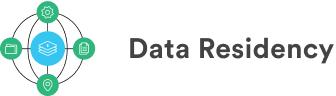 Logo de résidence des données