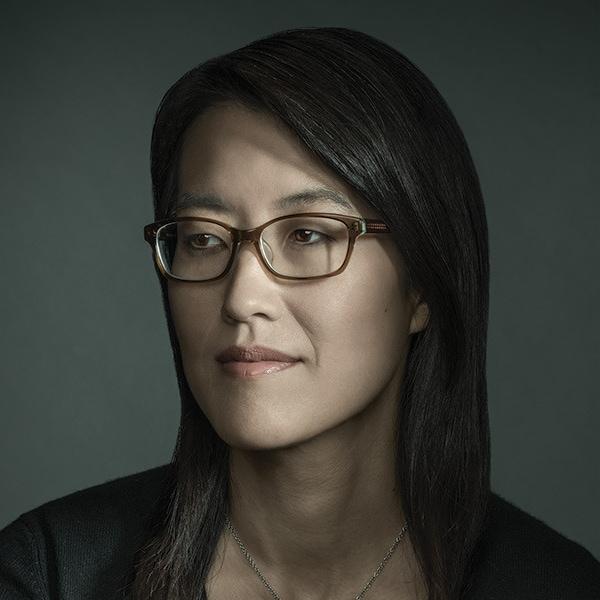 Headshot photo of Ellen Pao