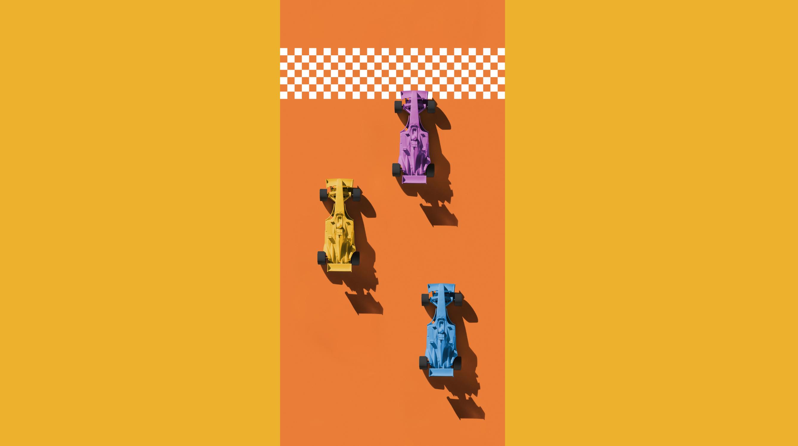 3台のレーシングカー_hero