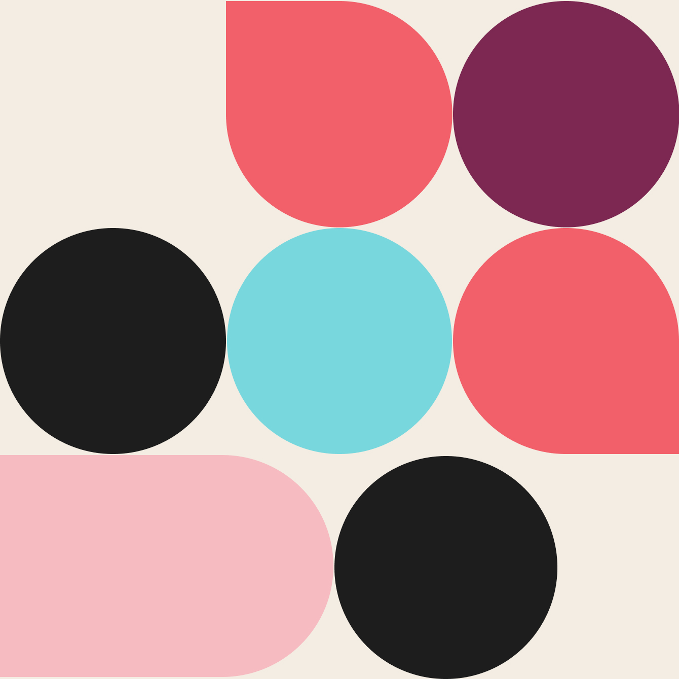 colorful shapes with Slack logo