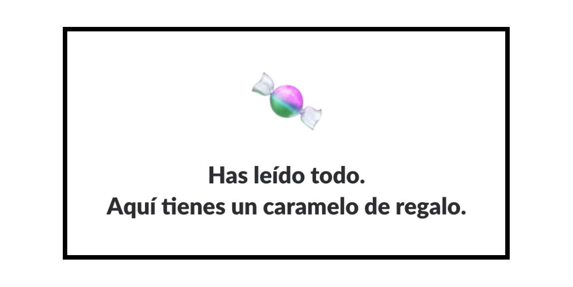 Spanish message
