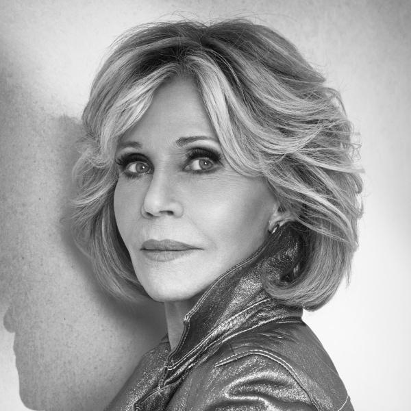 Headshot photo of Jane Fonda