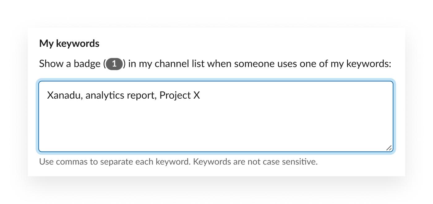 키워드 예: Xanadu, 분석 보고서, 프로젝트 X