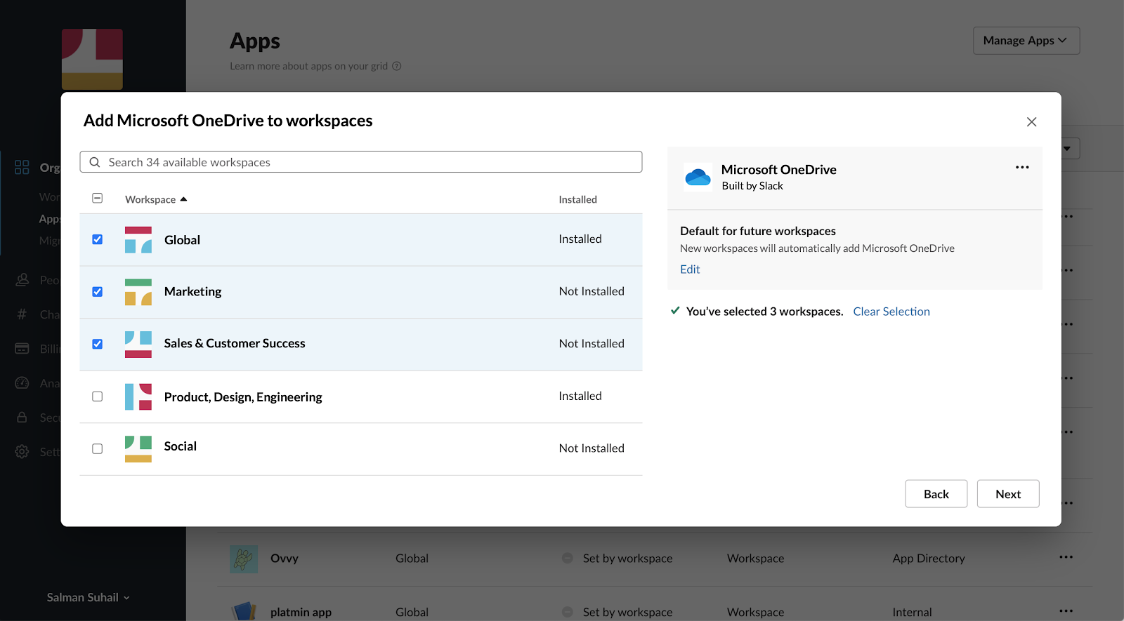 Unternehmensweite App-Bereitstellung