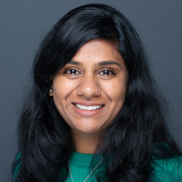 Headshot photo of Rukmini Reddy