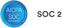 Logotipo da AICPA SOC 2