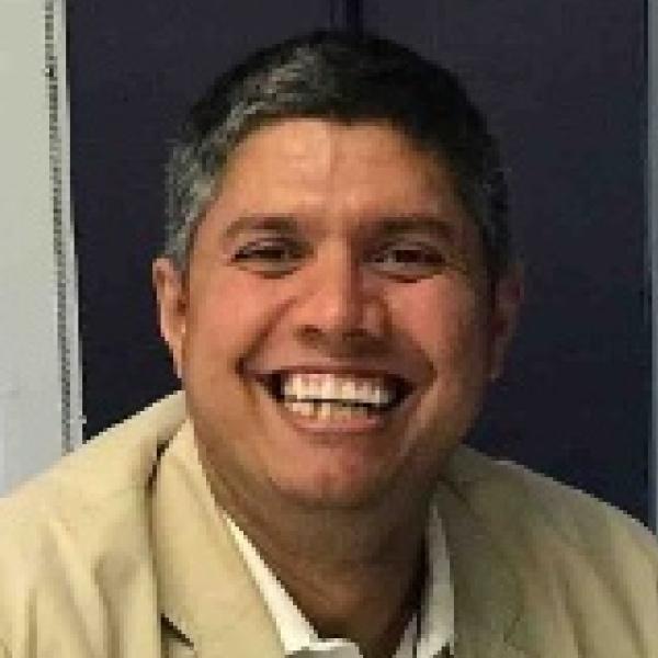 Headshot photo of Srinivas Sarathy